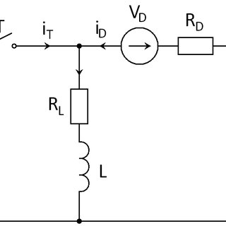 Control-to-output transfer function of a BUCK converter: a