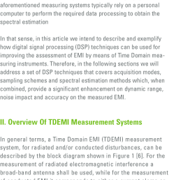 block diagram of a time domain emi measurement system  [ 726 x 1601 Pixel ]