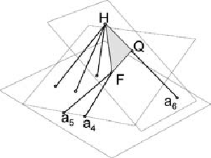 Combined singular configuration of tetrahedra T 2 and T 3