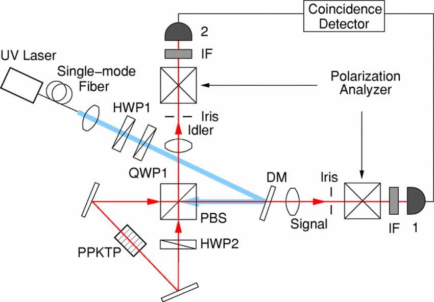 Color online) Experimental setup for polarization Sagnac