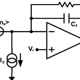 Traditional linear interface circuit to read-out resistive
