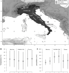a distribution map of italian clades of the common wall lizard the download scientific diagram [ 850 x 960 Pixel ]