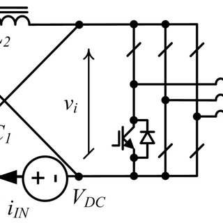 Equivalent circuits of CIC TZS-like inverter with built-in