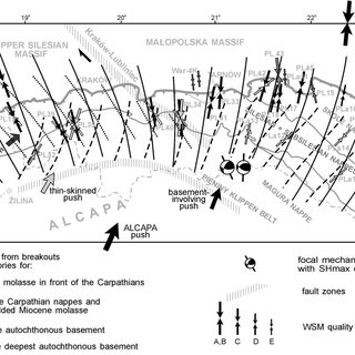 Different types of borehole cross-section elongation in