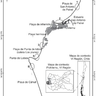 Solifluction lobes in the coastal environment of Dahls