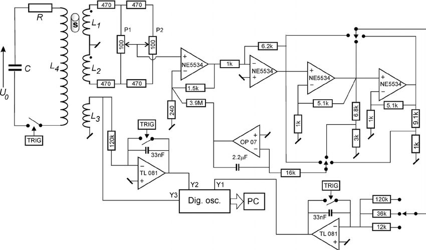 Block diagram of the magnetometer: s is the sample ͑ or