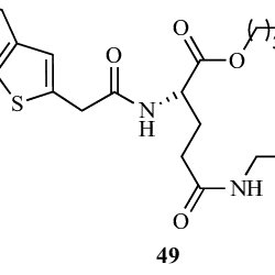 Chemical structure of GABA hybrids and their precursors as