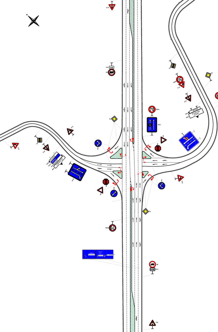 hight resolution of current state of the intersection source author s work