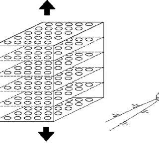 Confined compression test on a bonded disc sample. Cracks