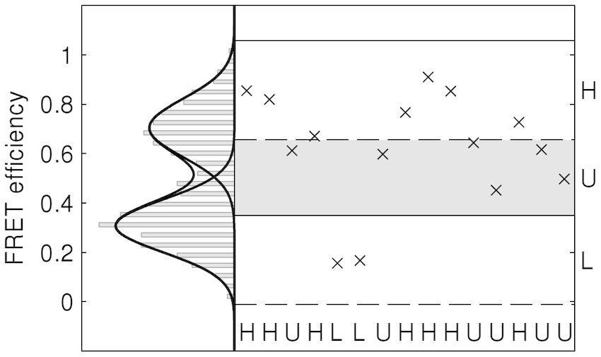 Illustration of partition scheme. On the vertical axis the