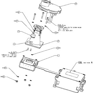 Schematic assembly drawing of the Pancam. Major components