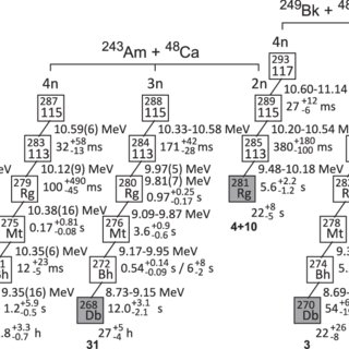 (PDF) Investigation of the 243Am+48Ca reaction products
