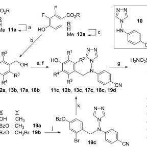 Scheme 3. Synthesis of compound 15. Reagents and