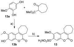 Scheme 3. Synthesis of compound 13. Reagents and