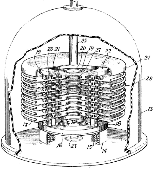 Drawing of an Insulating Core Transformer (ICT) high