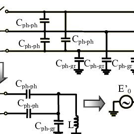 Simplified circuit for analysis of series resonance in