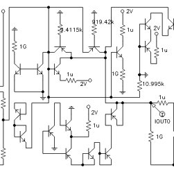 Smallest compliant register-controlled capacitor circuit