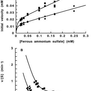 pH-dependence of Fe (II) autoxidation in Hepes and Tris