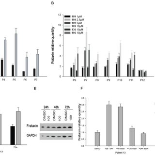 A. Fxn mRNA measurement by quantitative real-time RT-PCR