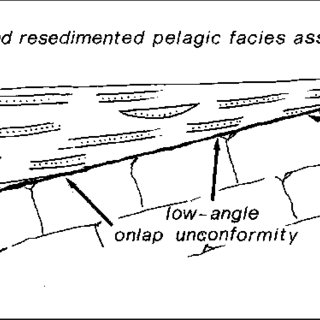 Type 1 pelagic carbonate platforms and basins in a horst