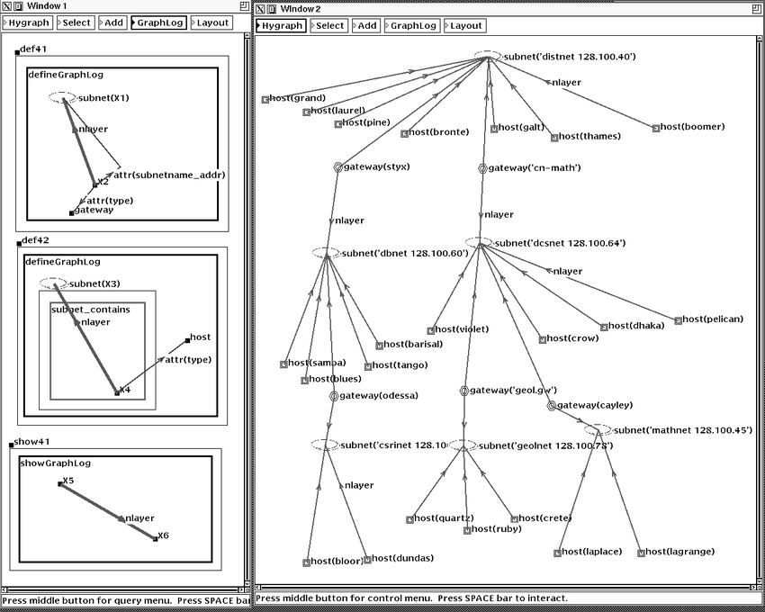 2: Defining and displaying the logical network layer map