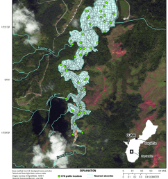 bathymetric boat survey track locations of topographic survey points at imong river and imong [ 850 x 1055 Pixel ]