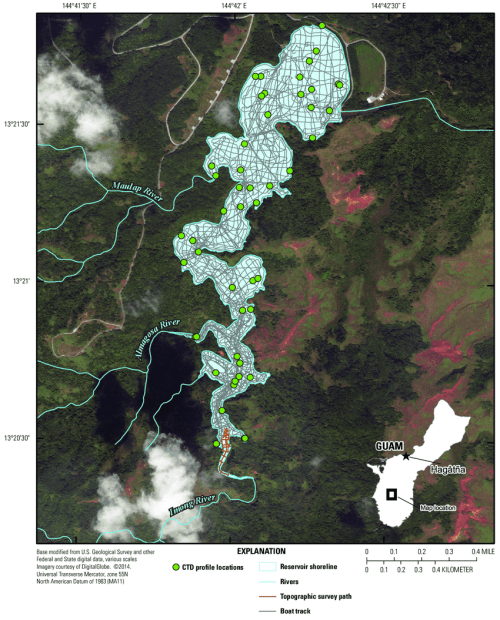 small resolution of bathymetric boat survey track locations of topographic survey points at imong river and imong