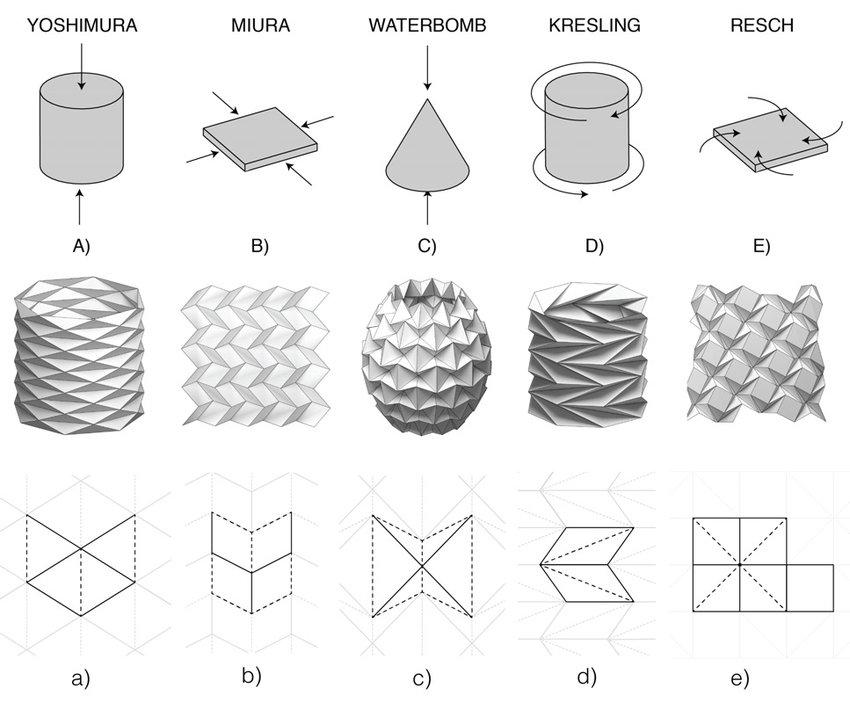 3: Natural Folding Patterns: Illustration of Force