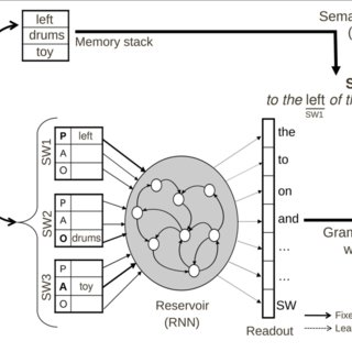Schematic characterization of the thematic role assignment