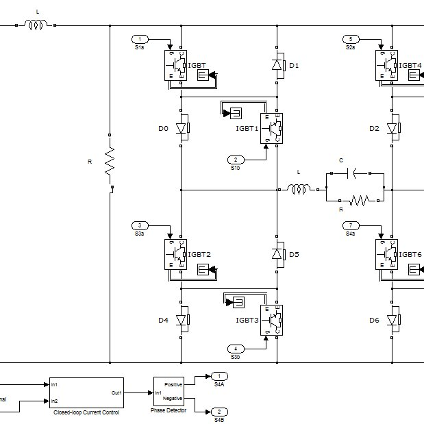 Single Phase Matrix Converter with Current Control Closed