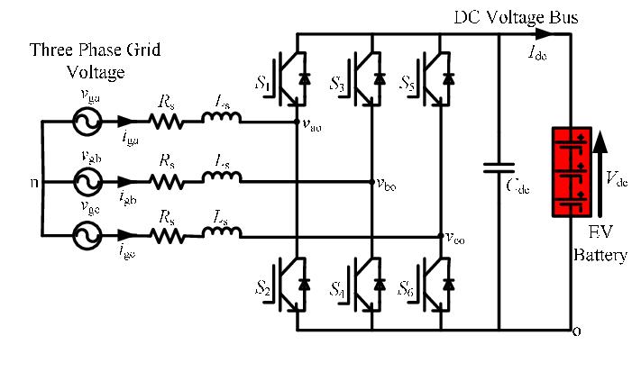 Three-phase bidirectional AC-DC converter topology
