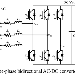 Chopper Wiring Diagram Solar Power Inverter Shows The Three-phase Bidirectional Ac-dc Converter Topology Which... | Download Scientific