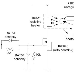 The temperature measurement circuit based on a K-type