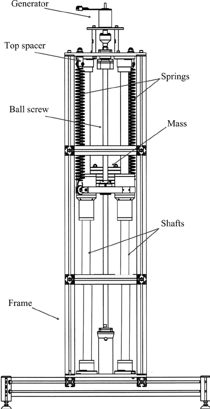 Schematic diagram of the proposed energy harvesting system