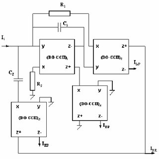 Block diagram of the dual-output second generation current