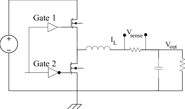resistor circuit diagram hogtunes wiring schematic of external sense for capturing the inductor and download scientific