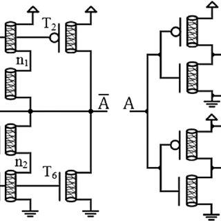 Transistor level design of the proposed ternary full adder