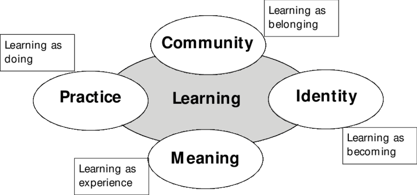 1 Components of a social theory of learning: an initial