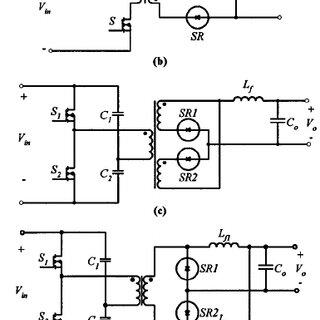 Critical waveforms in a symmetric half-bridge current