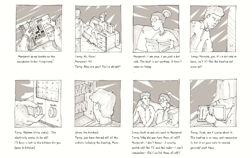 An Example Of Design Narratives Storyboard Download