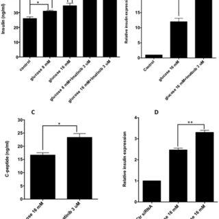 β cells receiving glucose signals upon glucose