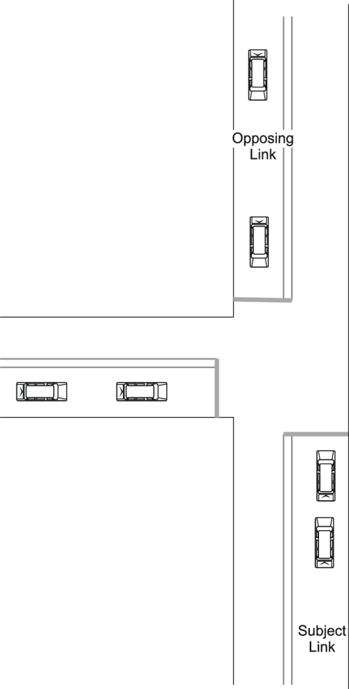 small resolution of layout of typical t intersection