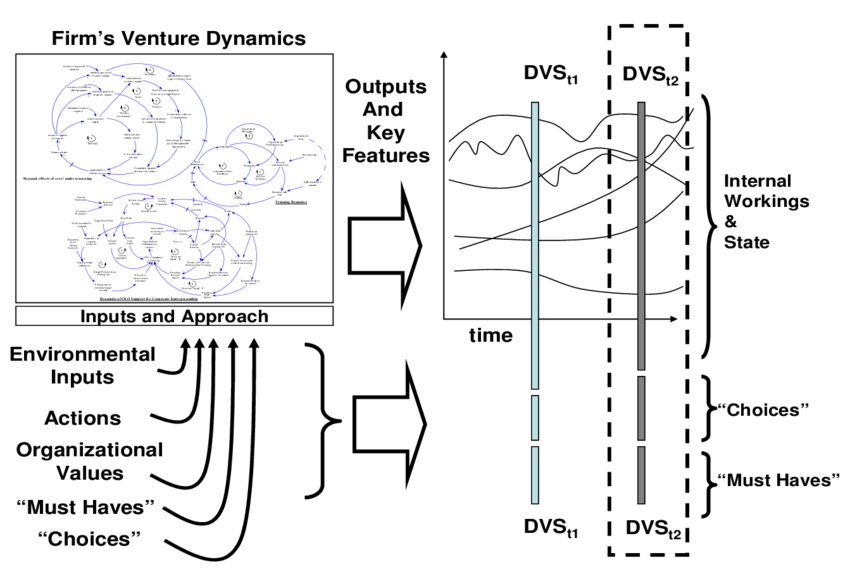 shows schematically what the Dynamic Venture Signature