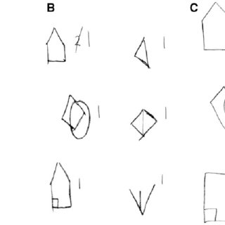 Brief visuospatial memory test. (A) Sample images