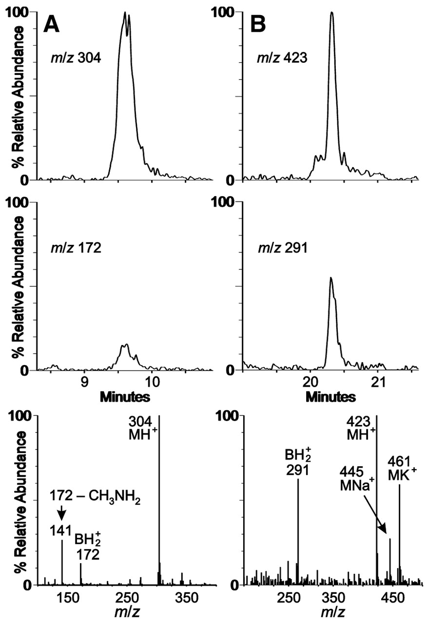 hight resolution of detection of nucleosides in m maripaludis trna a download scientific diagram