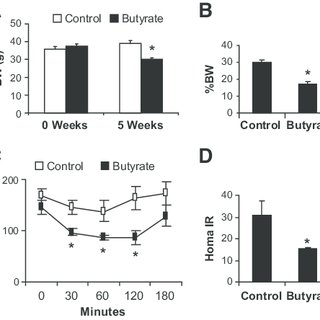 (PDF) Butyrate Improves Insulin Sensitivity and Increases