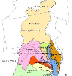 chesapeake bay watershed  [ 850 x 1099 Pixel ]
