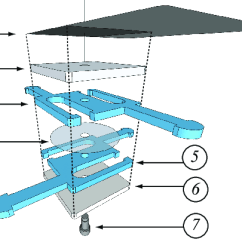 Paper Airplane Diagram Of Parts Toyota 22re Alternator Wiring Layers For A 2d Expansion Unit 1 Tile 44x44mm 200g Whose Darker Part Is Pasted Onto Layer 2 6 Plexiglass Squares 24x24mm 3mm Thick