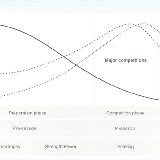 Periodization of strength training with associated
