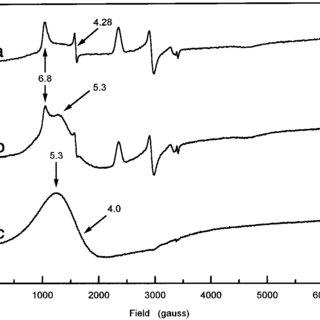 Schematic representation of the ferroxidase center and